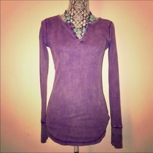 Mossimo Purple Thermal Top